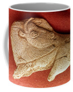 Prehistoric Bison Carving Coffee Mug