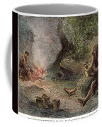 Prehistoric Man: Pottery Coffee Mug