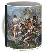Prehistoric Man: Tools Coffee Mug