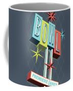 Premiere Lanes Bowling Pop Art Coffee Mug