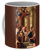 Presentation In The Temple Coffee Mug by Simon Vouet