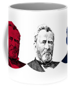 President Grant Red White And Blue Coffee Mug