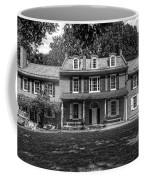 President James Buchanan's Wheatland In Black And White Coffee Mug