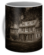 President James Buchanan's Wheatland In Sepia Coffee Mug