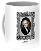 President John Adams Portrait  Coffee Mug by War Is Hell Store