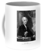 President John Adams - Three Coffee Mug