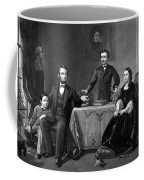 President Lincoln And His Family  Coffee Mug by War Is Hell Store