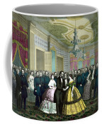 President Lincoln's Last Reception Coffee Mug by War Is Hell Store