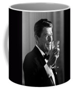 President Reagan Making A Toast Coffee Mug