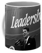 President Ronald Reagan Leadership Photo Coffee Mug