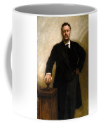 President Theodore Roosevelt Painting Coffee Mug