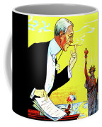 President Woodrow Wilson And The 15th Proposition For The League Of Nations Coffee Mug