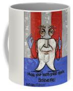 Presidential Tooth 2 Coffee Mug by Anthony Falbo