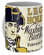 Presidents Day Vintage Poster Coffee Mug