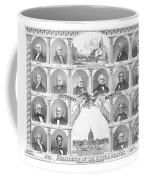 Presidents Of The United States 1776-1876 Coffee Mug