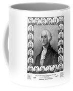 Presidents Of The United States 1789-1889 Coffee Mug