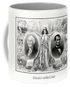 Presidents Washington And Lincoln Coffee Mug by War Is Hell Store