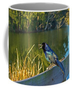 Pretty Bird At A Sunrise Coffee Mug