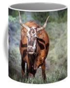 Pretty Female Cow With Horns Coffee Mug
