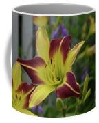 Pretty Flowering Lily In A Garden  Coffee Mug