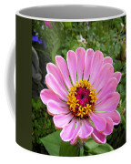 Pretty In Pink Zinnia Coffee Mug