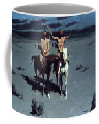 Pretty Mother Of The Night White Otter Is No Longer A Boy 1900 Coffee Mug