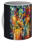 Pretty Night - Palette Knife Oil Painting On Canvas By Leonid Afremov Coffee Mug