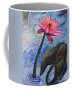 Pretty Pink In The Pond Coffee Mug by Emily Michaud