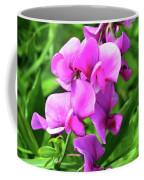 Pretty Pink Sweetpea  Coffee Mug