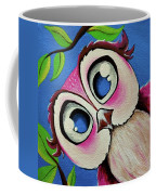 Pretty Pinky Owl Coffee Mug