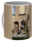 Pretty Terrace Beside The Groenerei Canal In Bruges Belgium Coffee Mug