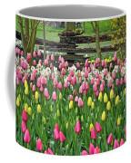 Pretty Tulips Garden Coffee Mug