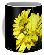 Pretty Yellow Flowers Coffee Mug