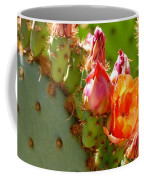 Prickly Pear Blooms Coffee Mug