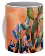Prickly Pear Coffee Mug by Lynee Sapere