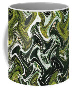 Prickly Pear With Green Fruit Abstract Coffee Mug