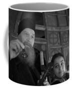 Priest And A Young Girl  Coffee Mug