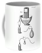 Priestleys Gas Manipulating Apparatus Coffee Mug