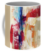 Primary 2- Abstract Art By Linda Woods Coffee Mug