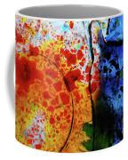 Primary Crystal Abstract Coffee Mug