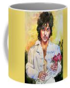 Prince Rogers Nelson Holding A Rose Coffee Mug