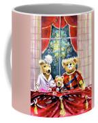 Prince William And Kate And Kids At Newby Hall Coffee Mug