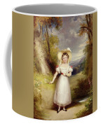 Princess Victoria Aged Nine Coffee Mug by Stephen Catterson the Elder Smith