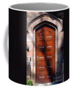Princeton University Wood Door  Coffee Mug