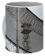 Prison Tower And Fence Coffee Mug
