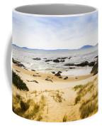 Pristine Beach Background Coffee Mug