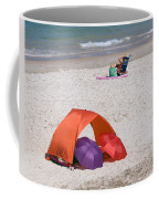 Privacy For Two At The Beach Coffee Mug