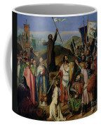 Procession Of Crusaders Around Jerusalem Coffee Mug by Jean Victor Schnetz