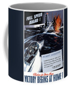 Produce For Your Navy Coffee Mug by War Is Hell Store
