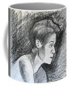 Profile Of A Black Woman Coffee Mug